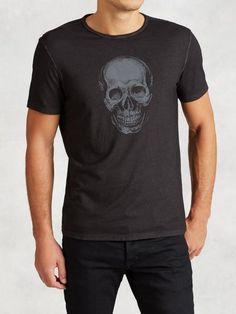Ghost Skull Graphic Tee (John Varvatos Star U.S.A. Resort 2016)