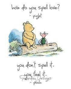 Cute winnie the pooh quote
