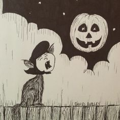 The last post of #inktober 2015, Happy Halloween! Now I'm going Trick-or-Treating. #inktober 31