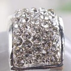 Discount China wholesale Shining Luxury Diamante Small Silver Diamante -studded Ring [10315] - US$1.49 : chicoffer.com