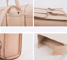 Apipi Leather | Handmade - Classic vegetable tanned genuine leather backpack