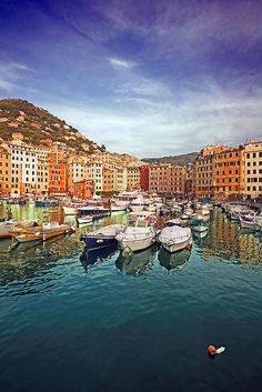 Camogli, Cinque Terre, Liguria, Italy