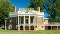 Thomas Jefferson's Poplar Forest... only $7 admission for college students! And, it's right on our way!