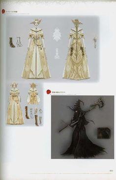 Dark souls Concept Art, Scanned - Imgur Medieval Fantasy, Dark Fantasy, Fashion Souls, Monster Concept Art, Monster Design, Painted Books, Fantasy Inspiration, Dark Souls, Character Design
