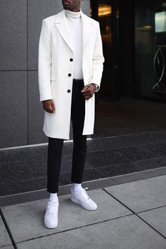 Trench Coat Homme, Trench Coat Outfit, Best Suits For Men, Cool Suits, Black Men Fall Fashion, Chinese Clothing For Men, Smart Attire, Hype Clothing, Clothing Ideas