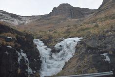 Frozen Waterfall, on Maluti Mountain, Lesotho Free State, Waterfall, Frozen, Explore, Mountains, History, Nature, Travel, Historia
