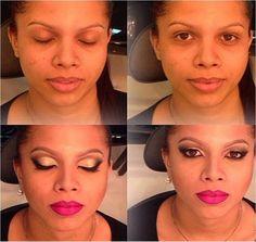 Transformação da @silvamihh feita pelo Beauty Team da NYX Belém