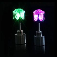 LED light up Earrings #EDM #burningman