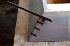 dovetail key for miter joint