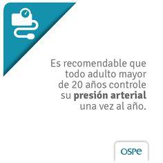 El diagnóstico precoz es fundamental para evitar complicaciones relacionadas a la hipertensión arterial.   #TipsDeSalud #Prevencion #OSPe