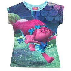 Girls Trolls Poppy T Shirt