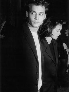 Grunge Couple Icons: Johnny Depp + Winona Ryder
