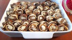 Diétás túrós palacsinta sütőben sütve (bécsi túrós palacsinta) - Salátagyár Stevia, Cereal, Stuffed Mushrooms, Muffin, Vegetables, Breakfast, Food, Stuff Mushrooms, Morning Coffee