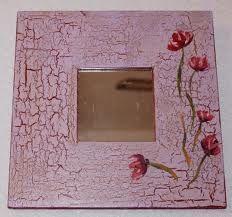 manualidades con craquelado - Buscar con Google Shabby Home, Shabby Chic, Malm, Wood Crafts, Dyi, Scrap, Wall Art, Mirror, Frame