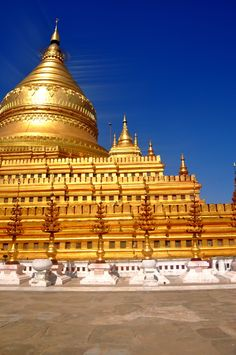 Buddhist Pagoda, Myanmar