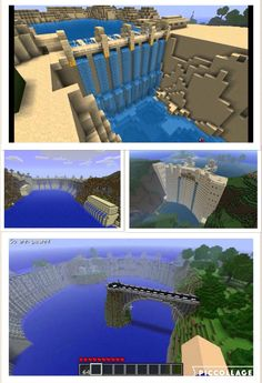 Dam ya a Minecraft dam for a desert maybe desert city
