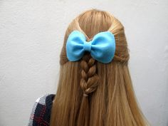 Small Betty Bow // Spring Collection Felt Hair by hellobettybow Spring Collection, Felt, Bows, Trending Outfits, Unique Jewelry, Handmade Gifts, Hair, Etsy, Vintage