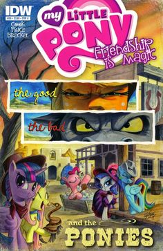 My Little Pony Friendship is Magic Comic #2 Cover A