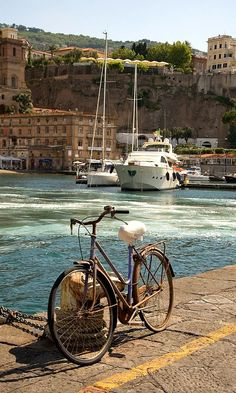 Quayside Bicycle.. Sorrento, Italy | Flickr - by Richard Amor Allan Naples Campania