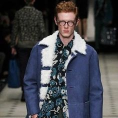"""At www.istylehq.co.uk we say Christopher Bailey's @burberry #burberry #burberryprorsum #AW15 #menswear is """"tailoring.. with.. flower power via the neighbourhood vintage shop"""". #mensstyle #mensfashion #menswearclothing #menswearblogger #maleblogger #instagramfashion #instagood #fashion #fashionblogger #style #stylist #styleblog #styleblogger #autumn #winter #fallfashion #photo #photooftheday #instaphoto @istylehq by istylehq"""