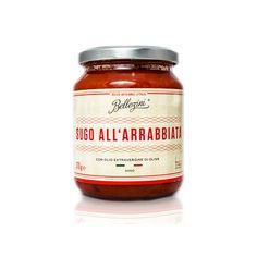 GIANCARLO BELLEZINI SUGO ALL' ARRABIATA Sugo all' Arrabiata Ein intensiver Geschmack, die leuchtend rote Farbe und ein herrlich fruchtiger Duft beim Öffnen des Glases - wenn sonnengereifte, italienische Tomaten auf reinstes,...