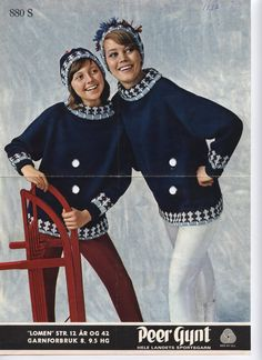 Lomen 880S Norwegian Knitting, Old Magazines, Jumpers, Knitting Patterns, History, My Style, Jackets, Crafts, Fashion