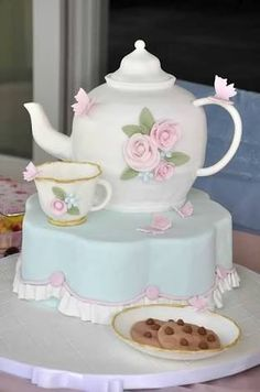 teaparty cake - Google Search
