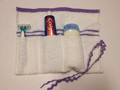 Wonderful idea for the kids to take to camp this summmer.This would be handy kits to take to showers at camp