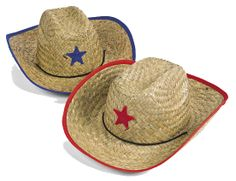 Star-struck Straw Cowboy Hat for Kids | Wally's Party Factory #western #cowboyhat