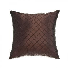 Softline Home Fashions Maris Pillow in Chocolate - - Pillows - Bed & Bath Couch Pillows, Throw Pillows, Convertible Crib, Living Room Inspiration, Slipcovers, Decorative Pillows, Blanket, Chocolate, House Styles