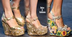 Dolce & Gabbana Shoes & Heels + Where to Buy Online - ShoeRazzi Crystal Belt, 2014 Trends, Spring Shoes, Sexy Outfits, Versace, Fendi, Peep Toe, Fashion Accessories, Shoes Heels