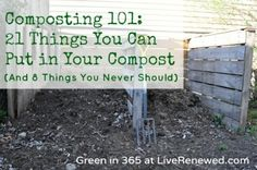 In addition to fruit and vegetable scraps, you can compost these items as well: Cardboard rolls Clean paper Coffee grounds and filters Cotton rags Dryer and vacuum cleaner lint Eggshells Fireplace ashes Fruits and vegetables Grass clippings Hair and fur Hay and straw Houseplants Latex balloons Leaves Nut shells Sawdust Shredded newspaper Tea bags Wood chips Wool rags Yard trimmings