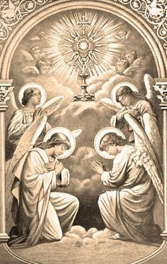 The Angels Bow Before The Very Presence of Christ!! My Lord and My God!!