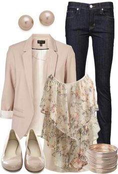 Take a look at the 11 best 11 classy spring outfits with a pastel blouse in the photos below and get ideas for your own amazing outfits! A romantic spring outfit in pastel pink colors with a lace skirt… Continue Reading → Source by nicolehutchison Spring Outfits Classy, Summer Work Outfits, Casual Work Outfits, Mode Outfits, Work Casual, Fashion Outfits, Skirt Outfits, Woman Outfits, Casual Summer