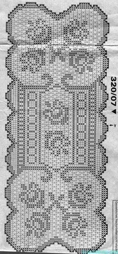 World crochet: Tablecloth 55