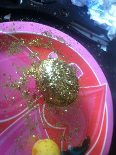 Glittery Easter Eggs DIY on la spice sisters