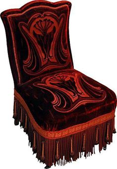 Art Nouveau Chair...nice!