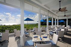 The Seagate's private oceanfront Beach Club in Delray Beach, FL    www.TheSeagateHotel.com