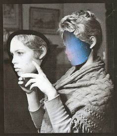 Collages by Lynn Skordal