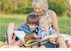Grandma reading to her grandchildren - 15 Photos that Will Make You Want to Hug Your Grandparents on I Heart Faces Photography Blog