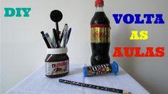 DIY,s Volta as Aulas |  Lápis, Porta Lápis e canetas, Apontador e Estojo