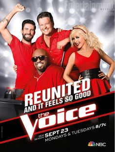 The Voice Season Five poster revealed