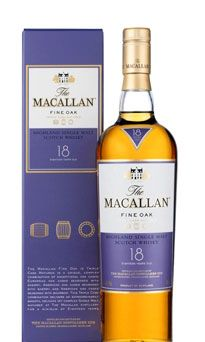 This Fine Oak malt whisky is a single malt is triple cask matured for a minimum of 18 years, according to the makers at Macallan.