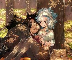fairy tail, gajeel, and anime kép Gale Fairy Tail, Fairy Tail Nalu, Fairy Tales, Gajeel E Levy, Gajevy, Dungeons And Dragons Characters, Fairy Tail Couples, Kirishima Eijirou, Cute Love