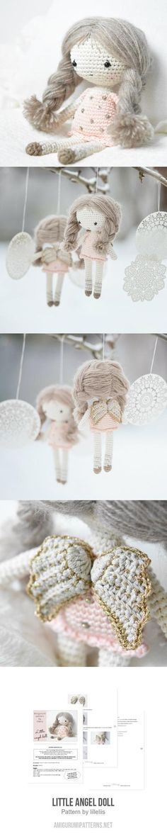 Little Angel Doll Amigurumi Pattern ♡