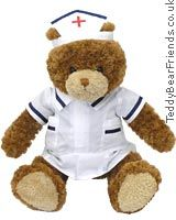 Gund Teddy Bear Nurse A get well greeting from this teddy bear nurse is sure to help someone who has not been feeling well. Snibbley from Gund is dressed in a nurses white uniform which can be removed. If you have a frien http://www.comparestoreprices.co.uk/baby-gifts-and-toys/gund-teddy-bear-nurse.asp