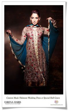 Pakistani Wedding Dresses Pakistani Bridal Dress or Special Party Wear from Pakistan. Ethnic Haute Couture South Asian Authentic Designer Clothing Now Available at FaridasPassions.com