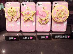 Nouveau Arrivel Mignon 3D Sailor Moon Star Papillon Miroir de Bande Dessinée cas de téléphone Pour iPhone 6 s 6 plus 6 splus 7 7 plus Retour couverture dans Téléphone Sacs et Valises de Téléphones et Télécommunications sur AliExpress.com   Alibaba Group