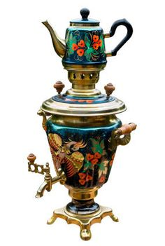 Russian Samovar. The first historically recorded samovar-makers in Russia were the Lisitsyn brothers, Ivan and Nazar. From their childhood they were engaged in metalworking at the brass factory of their father, Fyodor Ivanovich Lisitsyn. In 1778 they made a samovar, and the same year Nazar Lisitsyn registered the first samovar-making factory in Russia. They may not have been the inventors of the samovar, but they were the first documented samovar-makers. (wiki) #teahistory