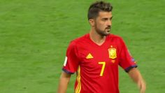 #MLS  David Villa returns to field for Spain in 3-0 win against Italy